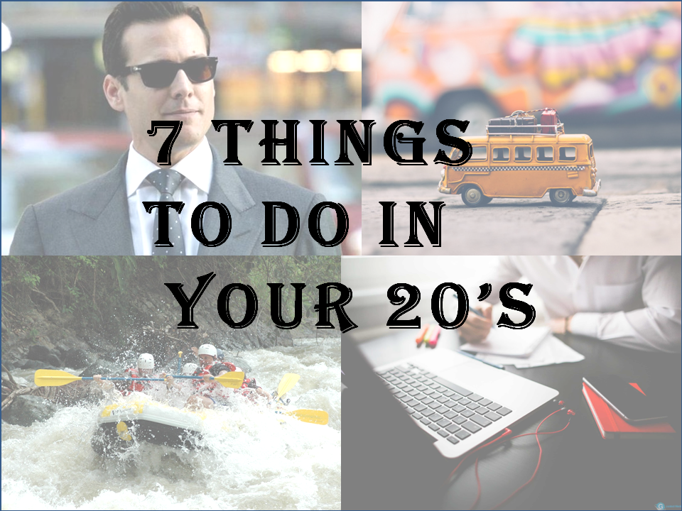 Things to do in your 20's